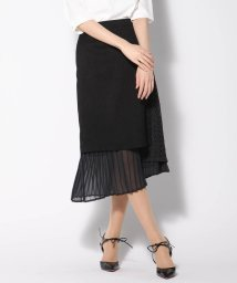 VICKY/リネンライク異素材スカート/502039716