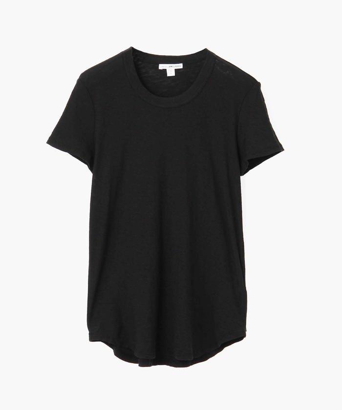 スラブジャージー クルーネック Tシャツ WUA3037