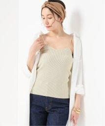 NOBLE/Rib knit キャミソール/502102057