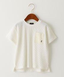 green label relaxing (Kids)/〔吸水速乾〕ドライワッフルポケットTシャツ/502152682