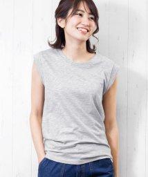mili an deni/レディース トップス 綿100% ノースリーブ Tシャツ カットソー/502200748