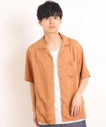 a.v.v (MEN)/ライトレーヨンオープンカラーシャツ[WEB限定サイズ]/501891238