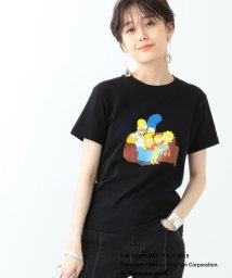 Ray BEAMS/THE SIMPSONS / FAMILY Tシャツ<BLACK>/501941935