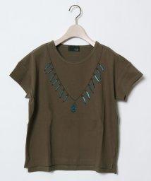 SCOTCLUB/GRANDTABLE(グランターブル) ネックレスデザインTシャツ/501993629