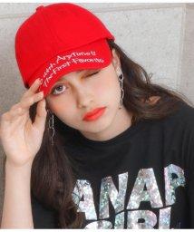 ANAP GiRL/つば刺繍ローキャップ/502020992
