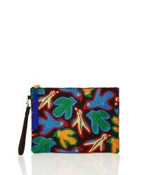BENETTON (women)/カラフルバード刺繍クラッチバッグ/502024409