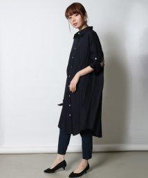 SCOTCLUB/GRANDTABLE(グランターブル) ロールアップバックラインシャツ/502035902