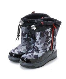 Anywalk/エニーウォーク Anywalk ドローコード付き子供用 防寒ブーツ・aw_17990(BLACK/ARMY)/502047186