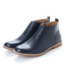 AAA PLUS/SFW サンエープラス AAA+ 軽くて履きやすくて歩きやすい!シンプルで合わせやすく履いた時のシルエットがきれいなショートブーツ/2356 (ネイビー)/502047822