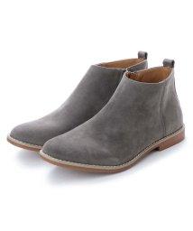 AAA PLUS/SFW サンエープラス AAA+ 軽くて履きやすくて歩きやすい!シンプルで合わせやすく履いた時のシルエットがきれいなショートブーツ/2356 (グレースエード)/502047825