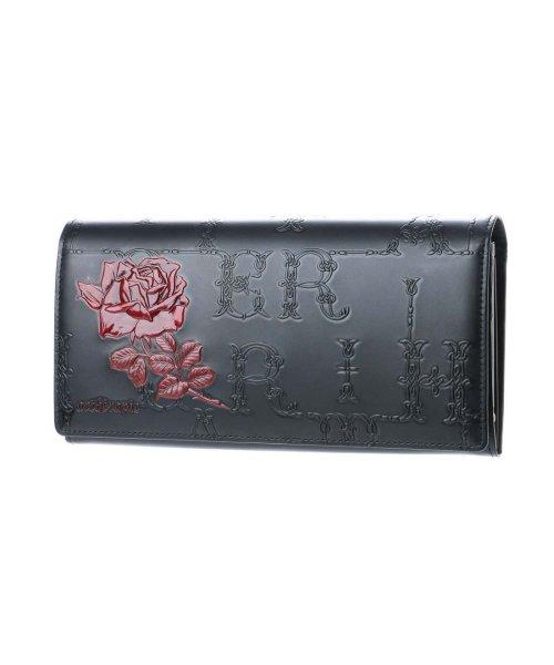 1144c578b4f1 artherapie(アルセラピィ)/アルセラピィ artherapie フィセルローズ かぶせがま口長財布 (ブラック×