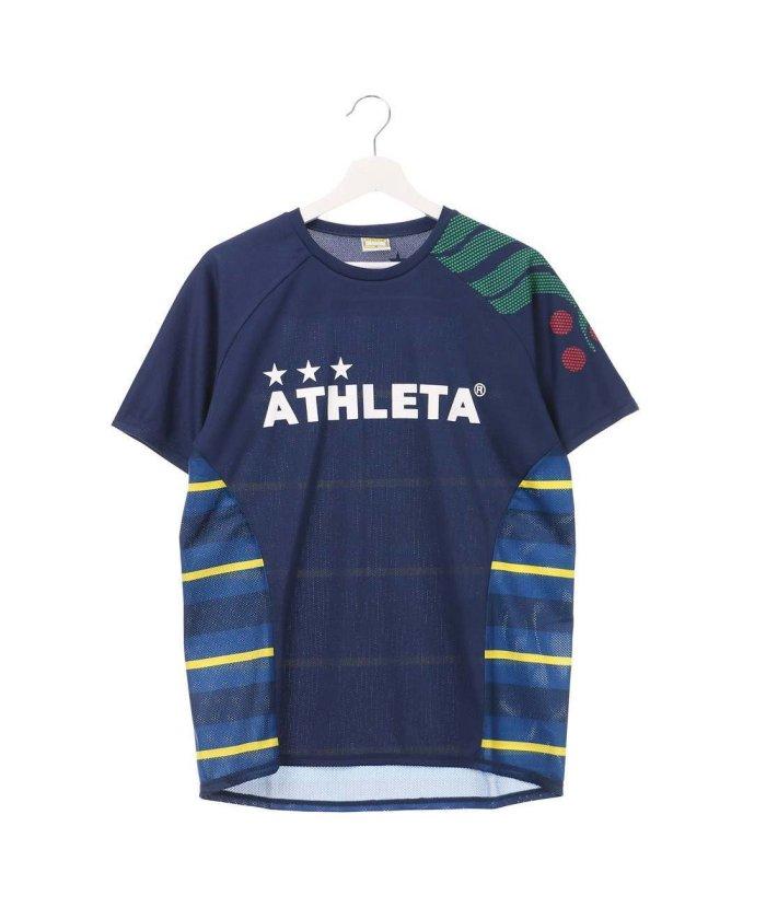 20852ddfae097b ATHLETA(アスレタ)/アスレタ ATHLET メンズ サッカー/フットサル 半袖シャツ プラクティスシャツ AP
