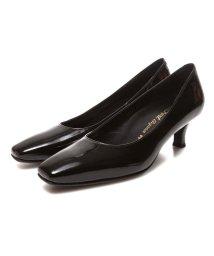 BEAUFORT ELEGANCE/ビューフォートエレガンス BeauFort elegance EEウイズウォーキングパンプス(ブラックエナメル)/502066110