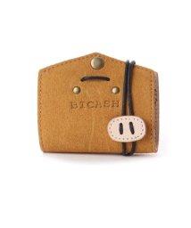 BICASH/ビカーシ BICASH スエードコインケース (MUSTARD)/502067966