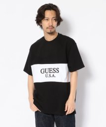 RoyalFlash/GUESS GREEN LABEL/ゲス グリーン レーベル/2 TONE TEE/502247430