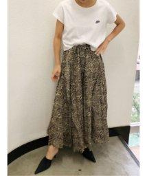 GYDA/original leopard ロングスカート/502247859