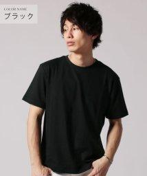 THE CASUAL/(バイヤーズセレクト) Buyer's Select ナノテックポップコーン編み半袖クルーネックカットソー/502248239