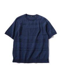 SHIPS MEN/SC: ランダム ボーダー ニット Tシャツ/502248752