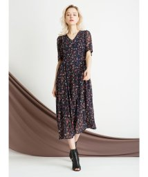 MIELIINVARIANT/Chiffon Floral Dress/502249448