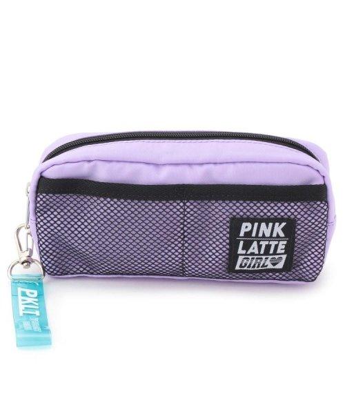 PINK-latte(ピンク ラテ)/メッシュポケットポーチ/20190132016043