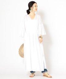 SHIPS WOMEN/PrimaryNavyLabel:カディワンピース/502250042