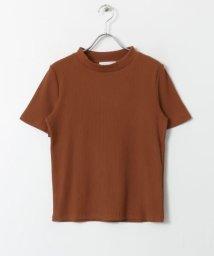 SENSE OF PLACE/リブクルーネックTシャツ(半袖)/502250934
