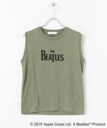 SENSE OF PLACE/The Beatlesトップス(ノースリーブ)/502250938