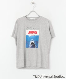 SENSE OF PLACE/JAWS プリントTシャツ(半袖)/502250941