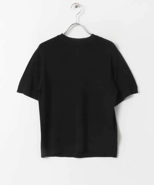SENSE OF PLACE(センスオブプレイス)/クルーネックセーター(5分袖)/AA95-22A102