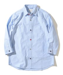 BEAMS OUTLET/BEAMS / 7分袖 オックスフォード トリコロールパイピング シャツ/501504274