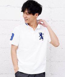 GIORDANOM/[GIORDANO]3Dライオン刺繍ポロシャツ/501561586