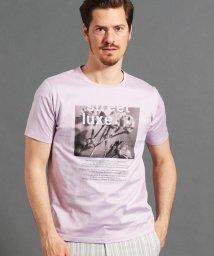 MONSIEUR NICOLE/ボタニカルグラフィックTシャツ/502034212