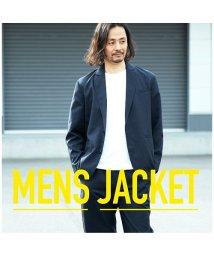 HANGAA/【セットアップ対応商品】ジャケット テーラードジャケット エステルトロ ボタン ポケット シンプル カジュアル メンズ M L LL/502035539