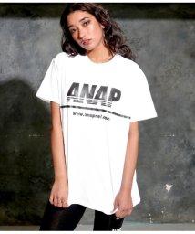ANAP/ANAPロゴプリントTシャツ/502037068