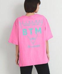 ANAP/ネックダメージプリントBIGTシャツ/502040911