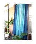 CAYHANE/【チャイハネ】グラーデーションカーテン178cm ブルー/502081108