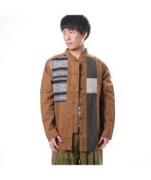 CAYHANE/【チャイハネ】ラールーンMEN'Sジャケット / チャイナシャツ キャメル/502087950
