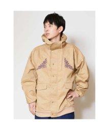 CAYHANE/【チャイハネ】オリエンタル刺繍メンズジャケット ベージュ/502089291