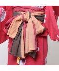 CAYHANE/【チャイハネ】インド綿グラデーション浴衣帯 パープル/502091706
