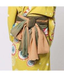 CAYHANE/◆【チャイハネ】グラデーション浴衣帯(KHAKI) カーキ/502091708
