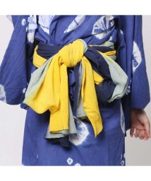 CAYHANE/◆【チャイハネ】グラデーション浴衣帯(NAVY) ネイビー/502091709