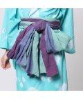 CAYHANE/◆【チャイハネ】グラデーション浴衣帯(SKY BLUE) スカイブルー/502091710