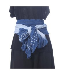 CAYHANE/【チャイハネ】豆絞り浴衣帯 ブルー/502092169