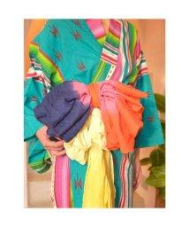 CAYHANE/【チャイハネ】インド綿グラデーション浴衣帯 レッド/502092881