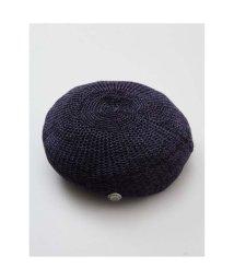 CAYHANE/【チャイハネ】コンチョボタンシンプルベレー帽 ブラック/502093135