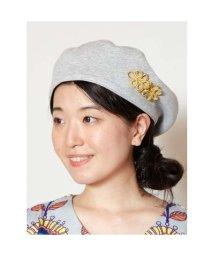 CAYHANE/【チャイハネ】チャイナボタンベレー帽 グレー/502094907