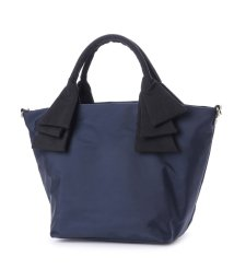 CURI BISCUI/キュリビスキュイ CURI BISCUI リボンハンドルナイロントートバッグ (Navy)/502100820