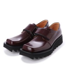 DIGOUT/ディガウト DIGOUT NIK (Square-Toe Shoes) (WINE RED)/502101931