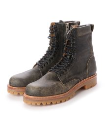 DIGOUT/ディガウト DIGOUT CREOLE (Lace-Up Boots) (BLACK-CRACK)/502101934