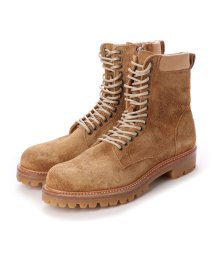DIGOUT/ディガウト DIGOUT CREOLE (Lace-Up Boots) (BEIGE-SUEDE)/502101936
